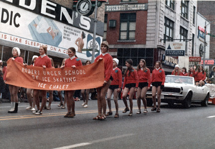 Marching in Gay Street parade
