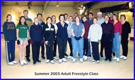 Summer 2003 Adult Free style class