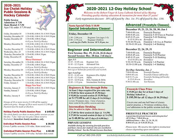 Holiday School