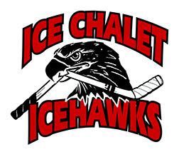 Ice Chalet IceHawks Logo
