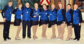 Adult Synchronized Skating Team
